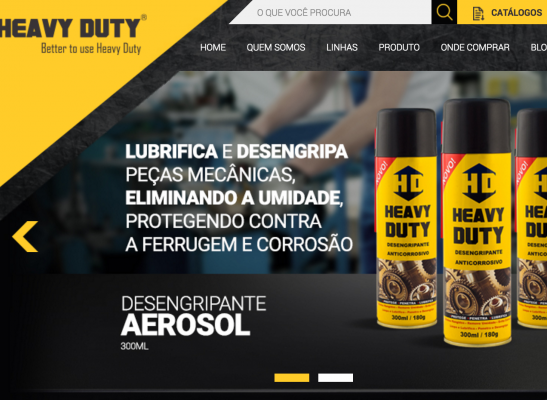 Novo Site da Heavy Duty está no ar